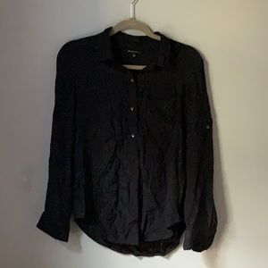 Madewell Silk Button Down